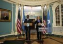 Former President Mohamud was denied a US visa to attend a meeting in Maine
